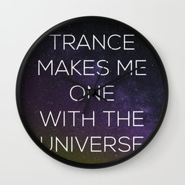 One With the Universe Wall Clock