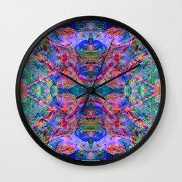 Cool, Calm, & Fluorescent Wall Clock
