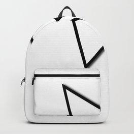 Cursor Arrow Mouse Black Line Backpack