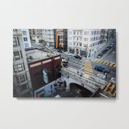 The Stockton Street Tunnel Metal Print