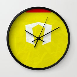 Hulkster ver.1 Wall Clock