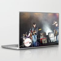 arctic monkeys Laptop & iPad Skins featuring Arctic Monkeys in Williamsburg, New York by The Electric Blue / Yen-Hsiang Liang (Gr