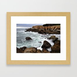 WAVES I Framed Art Print
