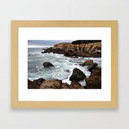 WAVES I Framed Art Print