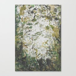 Abstract Sprout Canvas Print