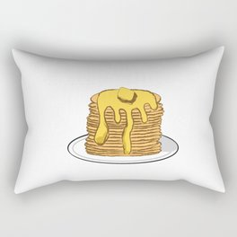 Steamin' Pile of Flapjacks Rectangular Pillow