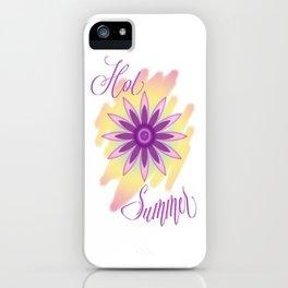 Hot Summer iPhone Case