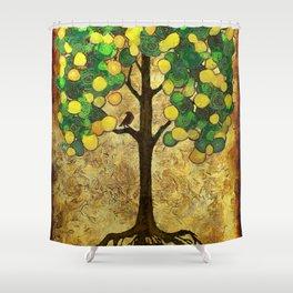 Lemon Tree Shower Curtain