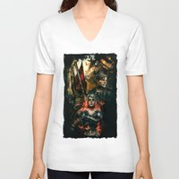 silent hill V-neck T-shirts featuring Silent Hill 2 - Atonement  by Tatiana Anor