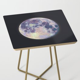 Blue moon Side Table