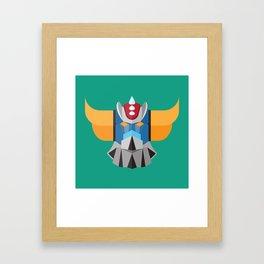 Grendizer - Ufo Robot Framed Art Print