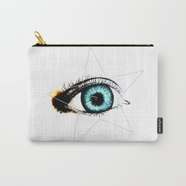 Looking In #3 - Original sketch to digital art Carry-All Pouch