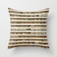 apollo Throw Pillows featuring Apollo by Parissis