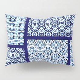 Shibori Ornament Quilt Pillow Sham