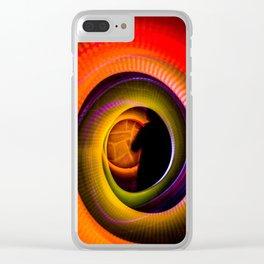En el portal Clear iPhone Case