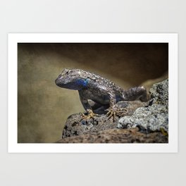 Who You Calling Reptilian? Art Print