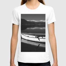 White boat T-shirt