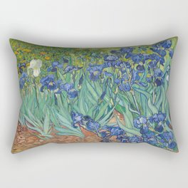 Vincent van Gogh - Irises Rectangular Pillow