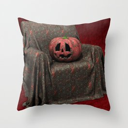 Hello Pumpkin Throw Pillow