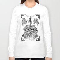 zen Long Sleeve T-shirts featuring Zen by Implicitprint