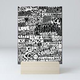 Scoooootttt! Mini Art Print