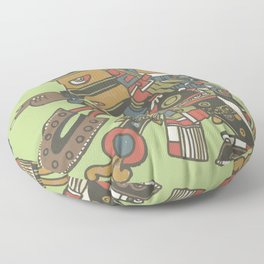 tezcatlipoca Floor Pillow