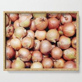 Onions, Onions, Onions! Serving Tray