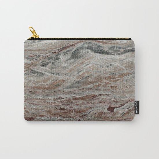 Arabescato-Orobico Fine Marble Carry-All Pouch