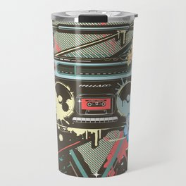 Ghetto Blaster Travel Mug