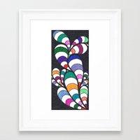 dr seuss Framed Art Prints featuring Dr. Seuss  by Sarah J Bierman