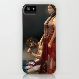 """Calypso(""""Charm of of the Ancient Enchantress"""" Series) iPhone Case"""
