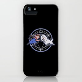 Fullmetal Fusion Ha! iPhone Case