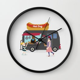 Relish the moment Wall Clock