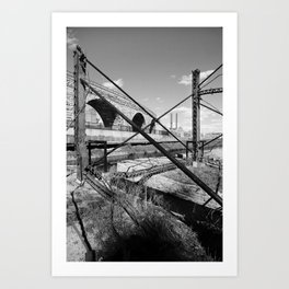 Mill District Art Print
