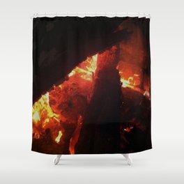 Bonfire~takibi~ Shower Curtain