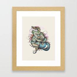 Eastern Dragon Framed Art Print