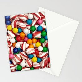 Peppermints and Gumballs Stationery Cards