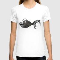 lantern T-shirts featuring Lantern Fish by GoAti