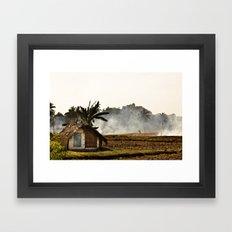 Hot hut Framed Art Print