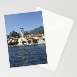 The village of Torno on Lake Como, Italy Stationery Cards