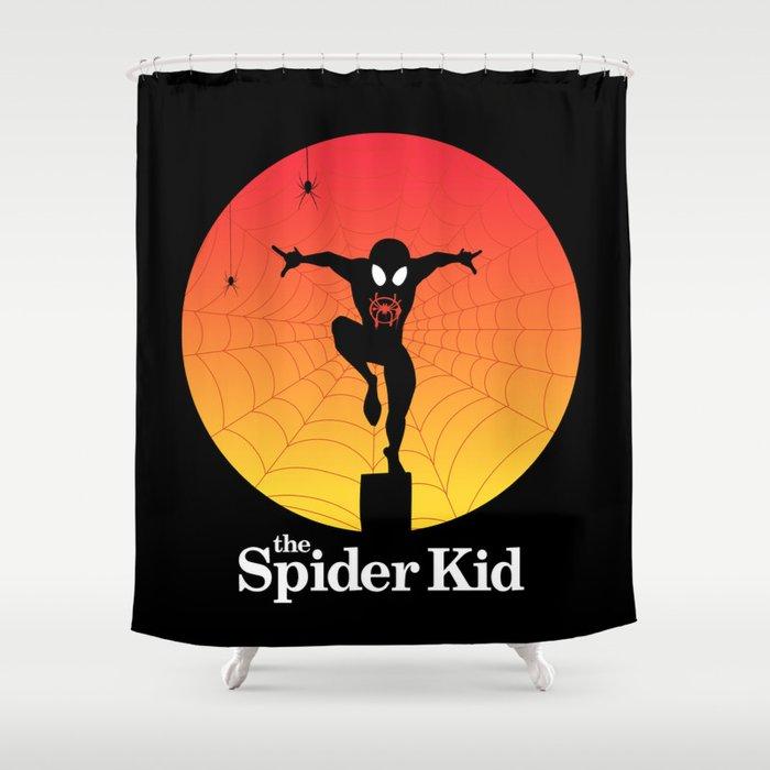 The Spider Kid Shower Curtain