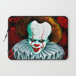 The Dancing Clown - Pennywise IT - Vector - Stephen King Character Laptop Sleeve