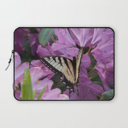Monarch on Rhododendron Laptop Sleeve