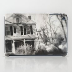 Goat on the roof iPad Case