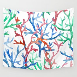 Sea Life Pattern 03 Wall Tapestry