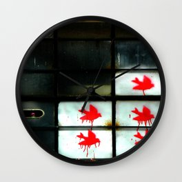 My dear Window pane... Wall Clock