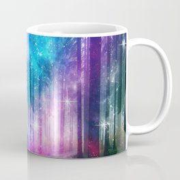 magical nebula forest Coffee Mug