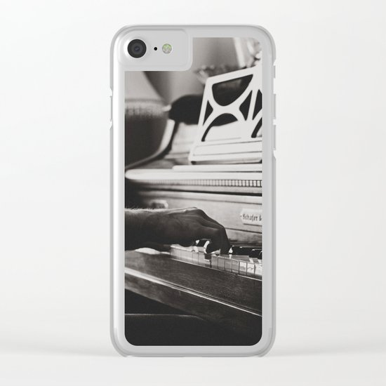 The pianist 4 Clear iPhone Case
