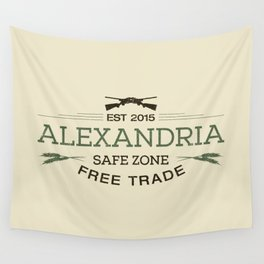 Alexandria Safe Zone Free Trade Wall Tapestry