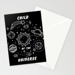 Child of the Universe Stationery Cards